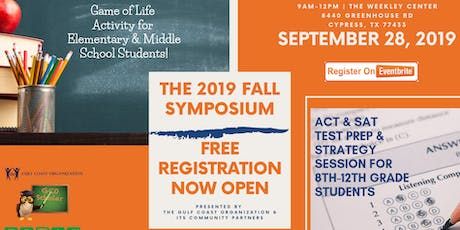 Gulf Coast Organization's 2019 Fall Symposium tickets