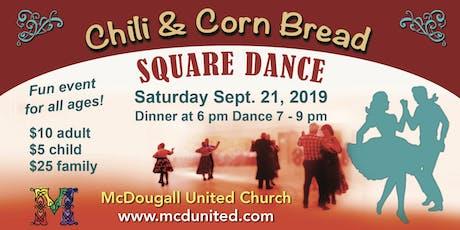 Chili & Cornbread Square Dance (for Begineers) tickets