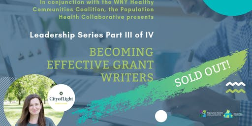 WNYHCC Leadership Series: Becoming Effective Grant Writers