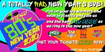 Totally 80's New Year's Party