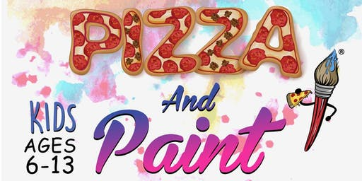 Kids Pizza and Paint Halloween Party
