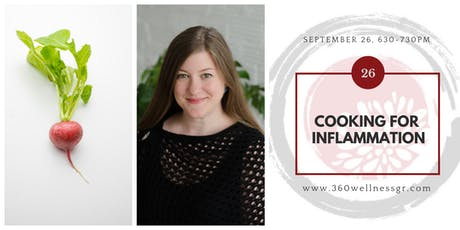 Cooking For Inflammation tickets