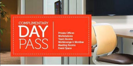 Complimentary Coworking Day tickets