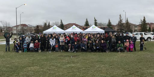 Fall 2019 UPS Tree Planting Event with Credit Valley Conservation