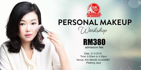 One Day Personal Makeup Workshop with KENZOOI  tickets