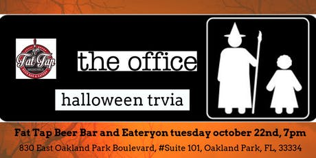 The Office (HALLOWEEN EPISODES)Trivia at Fat Tap Beer Bar and Eatery tickets