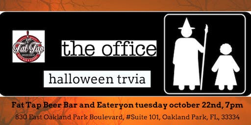 The Office (HALLOWEEN EPISODES)Trivia at Fat Tap Beer Bar and Eatery