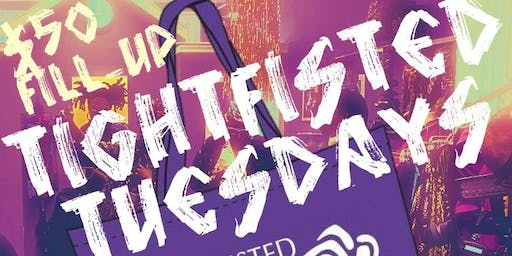 Tightfisted Tuesdays $50 Fill-up!