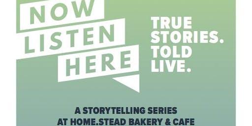 Now Listen Here Storytelling