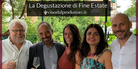 LA DEGUSTAZIONE DI FINE ESTATE: il 23 settembre all'Osteria Grand Hotel di Milano biglietti