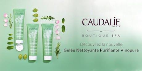 Événement Mixologie Vinopure -CAUDALIE DIX30 billets