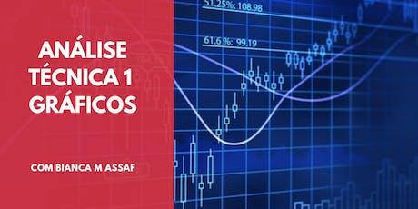 Curso - Análise Técnica 1 - Aprendendo a Operar Gráficos ingressos