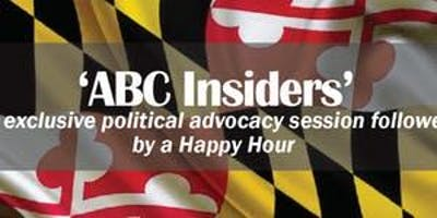 ABC Insiders Political Advocacy Session and Happy Hour