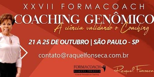 FORMACOACH - Curso de Formação em Coaching Genômico I Outubro - São Paulo - 2019