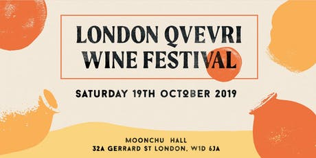 London Qvevri Wine Festival 2019 tickets