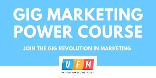 Gig Marketing Power Course