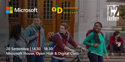 Accessibility Day - Microsoft C2Group Aid - @ Microsoft House MI