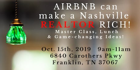 AIRBNB can make a REALTOR/INVESTOR RICH! tickets