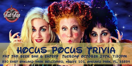 Hocus Pocus Trivia at Fat Tap Beer Bar and Eatery tickets