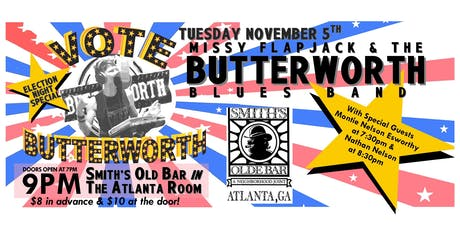 Missy Flapjack & The Butterworth Blues Band / Nathan Nelson / Montie... tickets