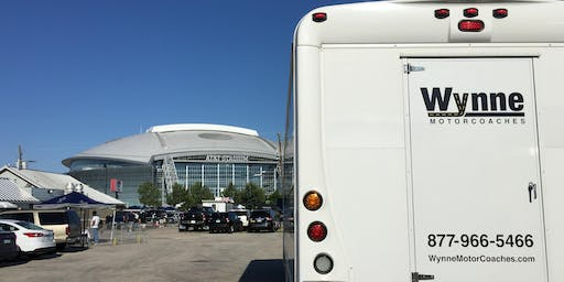 Dallas Cowboys Tailgate and Transportation from Downtown Dallas - Green Bay Packers