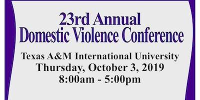 23rd Annual Domestic Violence Conference