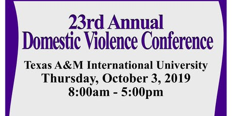 23rd Annual Domestic Violence Conference tickets
