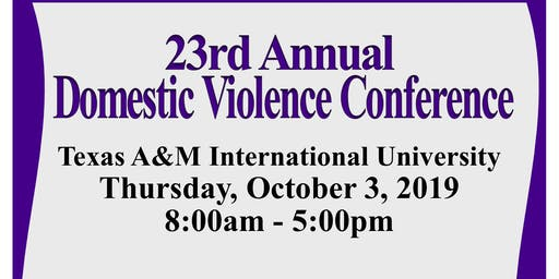 23rd Annual Domestic Violence Conference