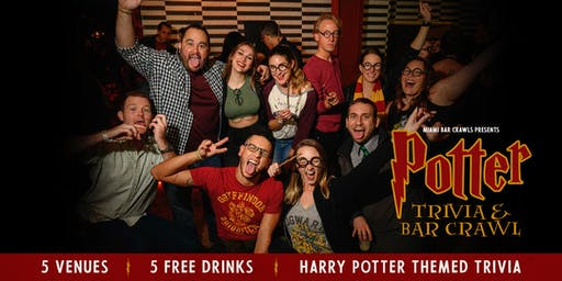 Potter Trivia & Bar Crawl in Miami