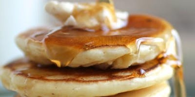 Pancakes with Cinnamon Syrup