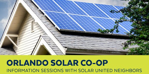 Orlando Solar Co-op Info Session
