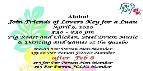 Friends of Lovers Key Luau tickets