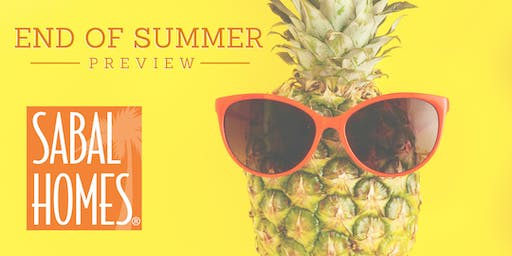 End of Summer Preview