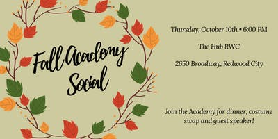 Sustainability Academy Fall Social