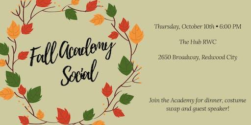 Sustainability Academy Fall Social