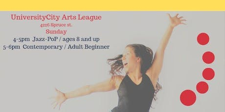 Contemporary-Jazz dance class (adult beginner) tickets