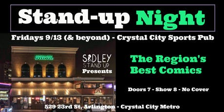 Crystal City Stand-up Comedy Night tickets