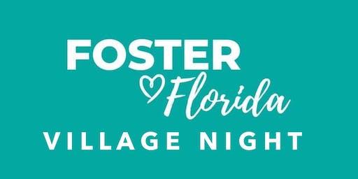 Foster Florida: Gainesville Village Night