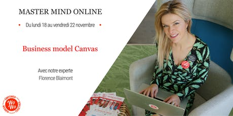 Master Mind Online - Business model Canvas, Florence Blaimont billets