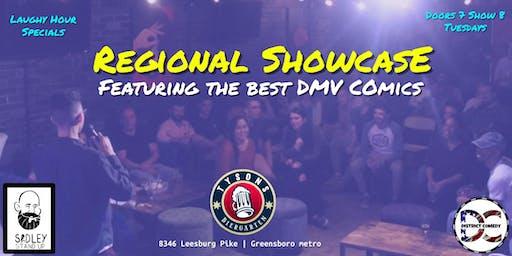Tysons Comedy Regional Showcase