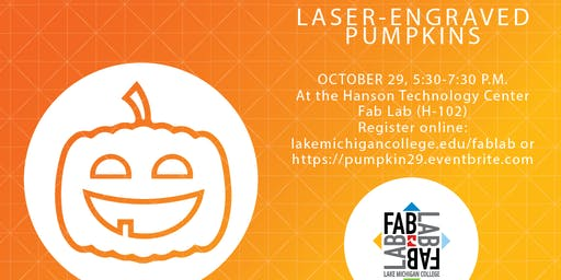 Carving Pumpkins? Laser them instead! Fab Lab Workshop with laser cutters