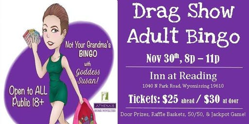Drag Show Adult Bingo