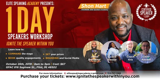 Elite Speaker's Academy - Ignite The Speaker Within You - 1 Day Workshop