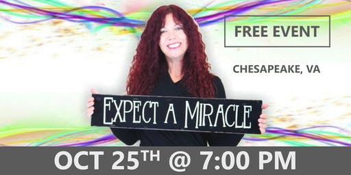 EXPECT A MIRACLE Evening with Rob & Aliss Cresswell - Chesapeake, VA