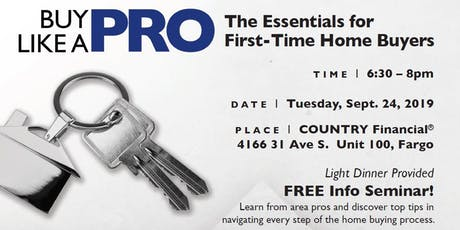 Free Seminar for First-time Home Buyers - BlackRidgeMORTGAGE Fargo with COUNTRY Financial®  tickets