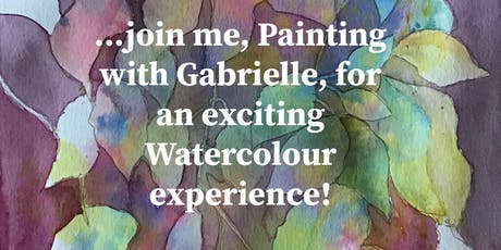 10 week Watercolour Course - Wednesday Mornings starting October 2, 2019 (until December 4, 2019) tickets