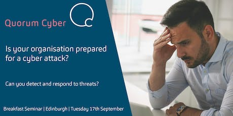 Is your company prepared for a cyber attack? tickets
