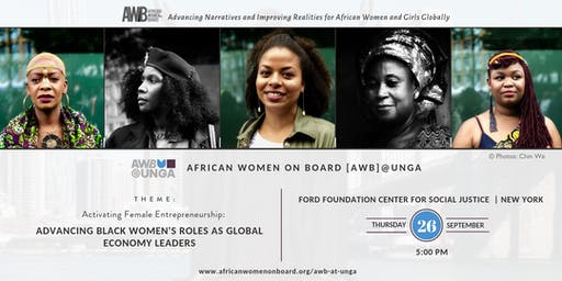 African Women on Board [AWB]@UNGA