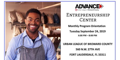Urban League of Broward County - Entrepreneurship Center -  Orientation tickets