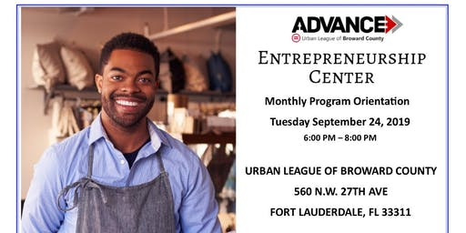 Urban League of Broward County - Entrepreneurship Center -  Orientation